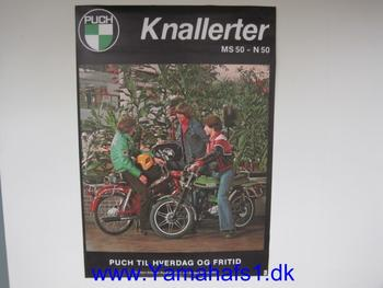 Plakat Puch MS50 - N50
