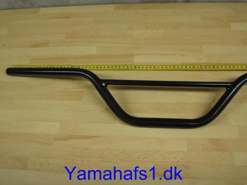 Cross styr rund stang sort 86cm