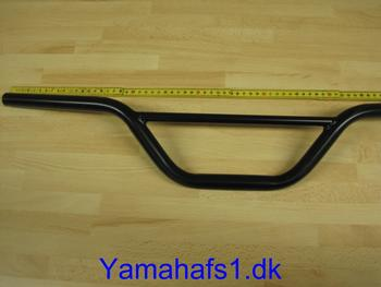 Cross styr rund stang sort 71cm