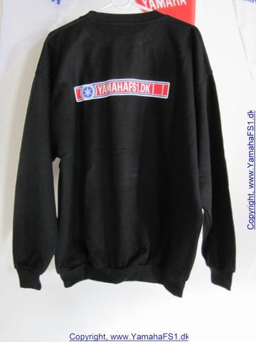 Sweatshirt sort str.2XL