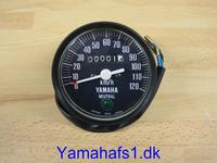 Speedometer i sort plastik original look